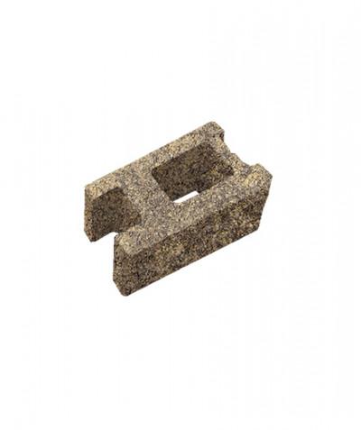 Блок пустотелый стеновой. Песочный