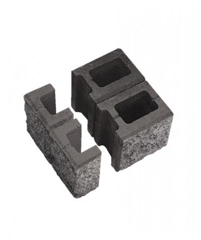 Блок пустотелый для колонн. Известняк