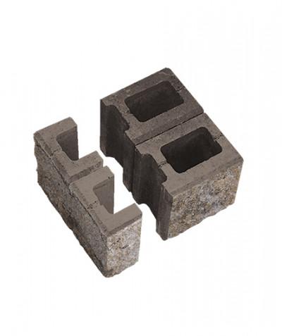 Блок пустотелый для колонн. Степняк